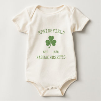Baby-Shirt Springfields MA Baby Strampler