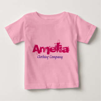Baby-Shirts Amelia Name Clothing Company Baby T-shirt
