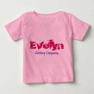 Baby-Shirts Evelyn Name Clothing Company Baby T-shirt