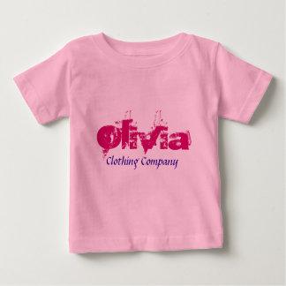 Baby-Shirts Olivia Name Clothing Company Baby T-shirt