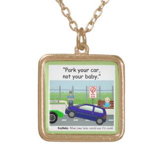 Baby-Sicherheits-Geschenke Vergoldete Kette