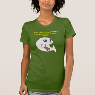 Baby-Siegelrazorback-Damen-Behälter T-Shirt