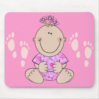 Baby-Sitzen Mousepad