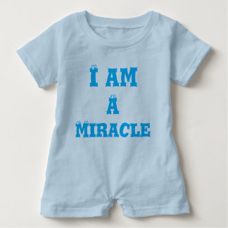 Baby-Spielanzug bin ich ein Wunder Baby Strampler