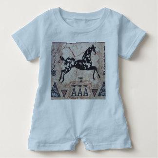 Baby-Spielanzug--Indisches Pony Baby Strampler