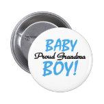 Baby-stolze Großmutter Anstecknadelbuttons
