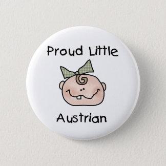 Baby-stolzer Österreicher Runder Button 5,1 Cm