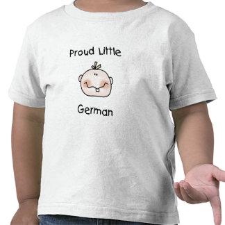 Baby-stolzer wenig Deutscher T Shirt