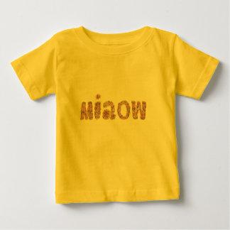 Baby-T - Shirt mit 'miaow
