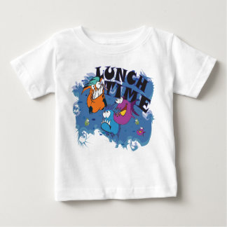 Baby T-Shirt mit Piranha Motiv Lunch Time