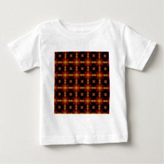 Baby-T - Shirt - rotes Schwarzes des Retro