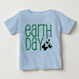 Baby-Tag der Erdehemd Baby T-shirt