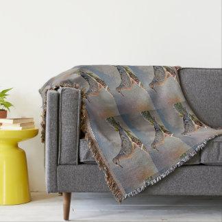 Baby-Taube auf Kaktus-Glied-Wurfs-Decke Decke