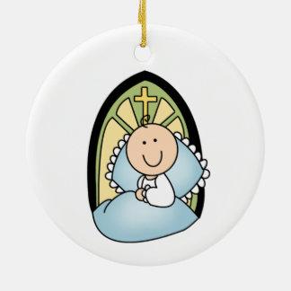 Baby-Taufe-Verzierung Keramik Ornament