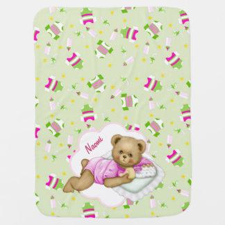 Baby-Teddybär Babydecke