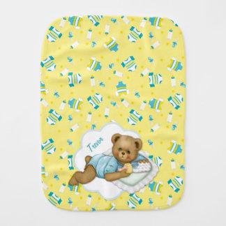 Baby-Teddybär - Burp-Stoff Baby Spucktuch