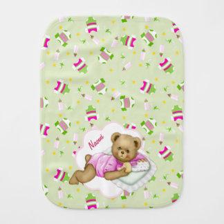 Baby-Teddybär - Burp-Stoff Spucktuch