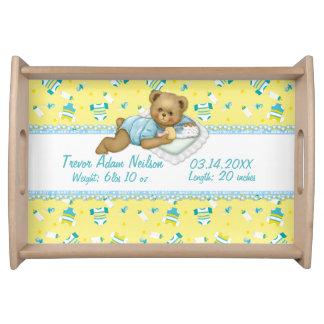Baby-Teddybär Tablett