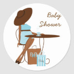 Baby-Tee Runder Aufkleber