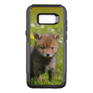 Baby-Tier-Foto niedliche flaumige roter OtterBox Commuter Samsung Galaxy S8+ Hülle