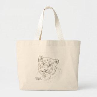 Baby Tiger-Zeichnen Tasche