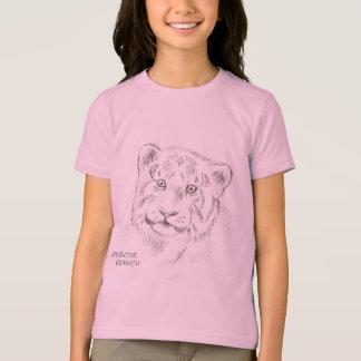 Baby-Tigerskizze T-Shirt