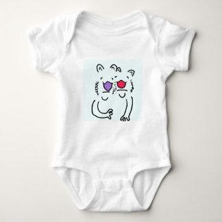 Baby-Umarmungs-Freunde Baby Strampler