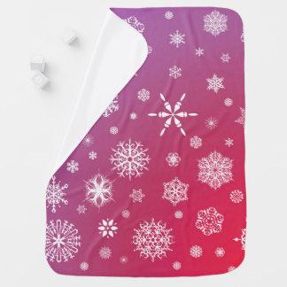 Baby-umfassender fallender Schnee Puckdecke