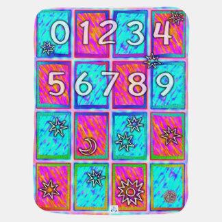 Baby-umfassendes Alphabet und Zahlen Puckdecke