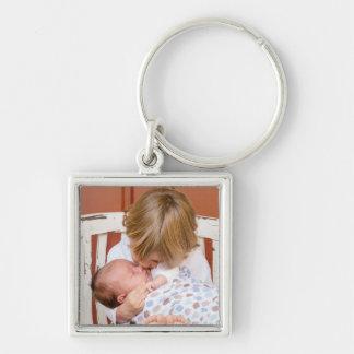 Baby-und große Schwester-Schlüsselkette Schlüsselanhänger