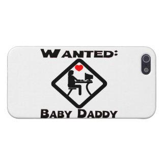 Baby-Vati gewollt iPhone 5 Etui