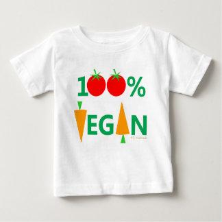 Baby-veganes niedliches Cartoon-Gemüse humorvoll Baby T-shirt