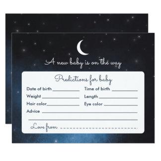 Baby-Vorhersage-sternenklare Karte