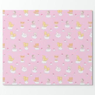 Baby-Wald Einpackpapier