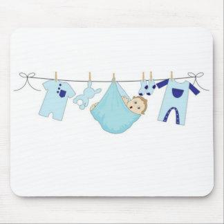 Baby-Wäscheleine Mousepads