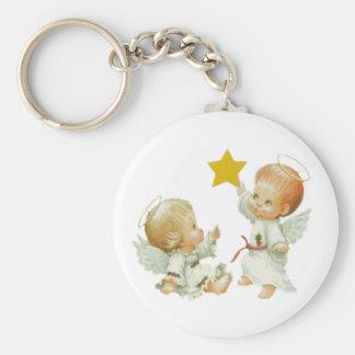 Baby-Weihnachtsengel Schlüsselanhänger