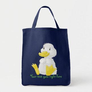 Baby-weiße Entlein-Taschen-Tasche Einkaufstasche