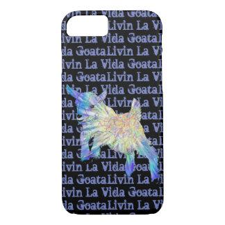 Baby-Ziege Livin La Vida Goata lustige Tierkunst iPhone 8/7 Hülle
