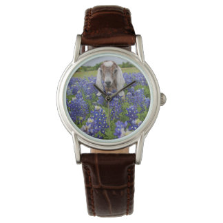 Baby-Ziegebluebonnet-Damen-Uhr Armbanduhr