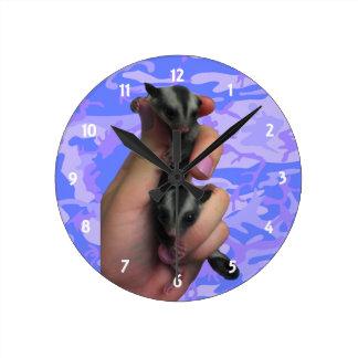 Baby-Zuckersegelflugzeug-Uhr Runde Wanduhr