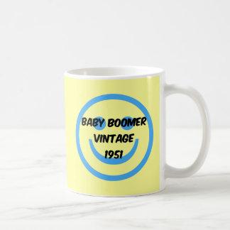 Babyboomer 1951 kaffeetasse