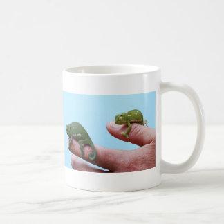 Babychamäleonperspektive Kaffeetasse