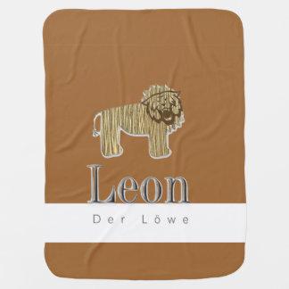 Babydecke Leon