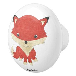 BabyFox scherzt Türknauf Keramikknauf