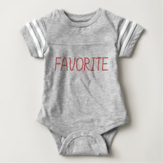 Babyfußball-Bodysuit 'favorite Baby Strampler