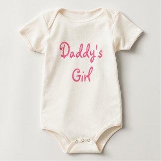 Babygrow das Mädchen des Vatis Baby Strampelanzug