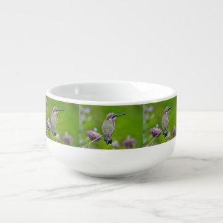 BabyHummer auf Lavendel-Suppen-Tasse Große Suppentasse
