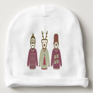 Babyhut mit drei Freunden Weihnachts Babymütze