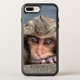 Babyjapanischer Macaque | Jigokudani Yaen-Koen OtterBox Symmetry iPhone 8 Plus/7 Plus Hülle