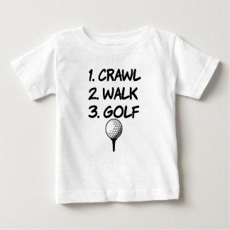 Babyjungen-Shirt des Schleichen-Weg-Golfs lustiges Baby T-shirt